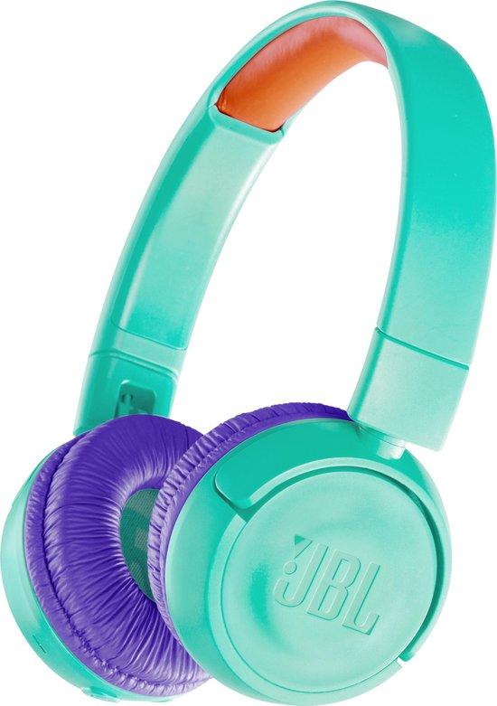 JBL JR300BT Turquoise - Draadloze on-ear kids koptelefoon