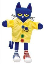 Pete the Cat and His Four Groovy Buttons 14.5  Puppet