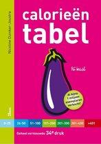 Boek cover Calorieën tabel van Nicoline Duinker-Joustra (Paperback)