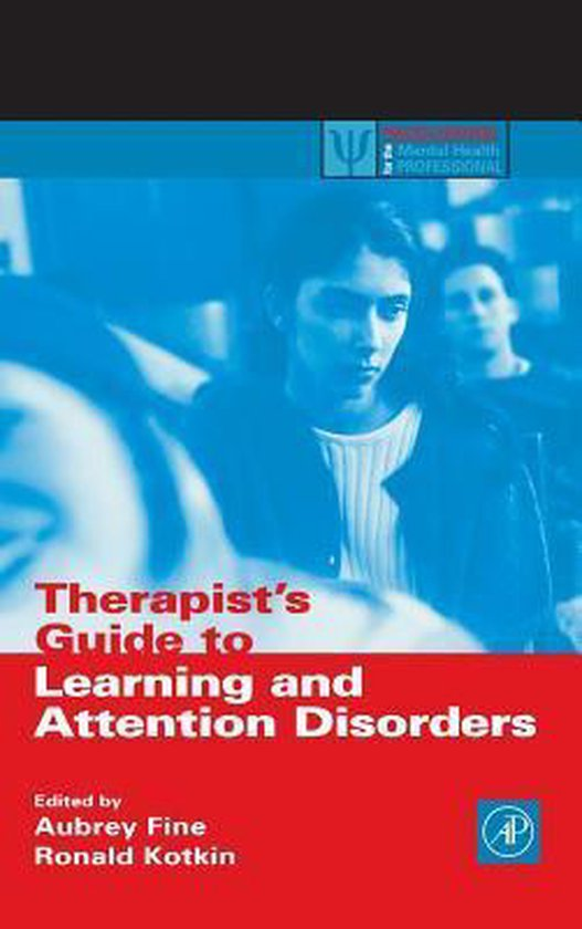 Boek cover Therapists Guide to Learning and Attention Disorders van Aubrey Fine (Hardcover)