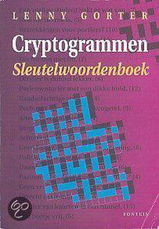 CRYPTOGRAMMEN SLEUTELWOORDENBOEK - Gorter |
