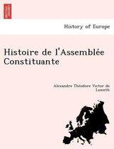 Histoire de L'Assemblée Constituante