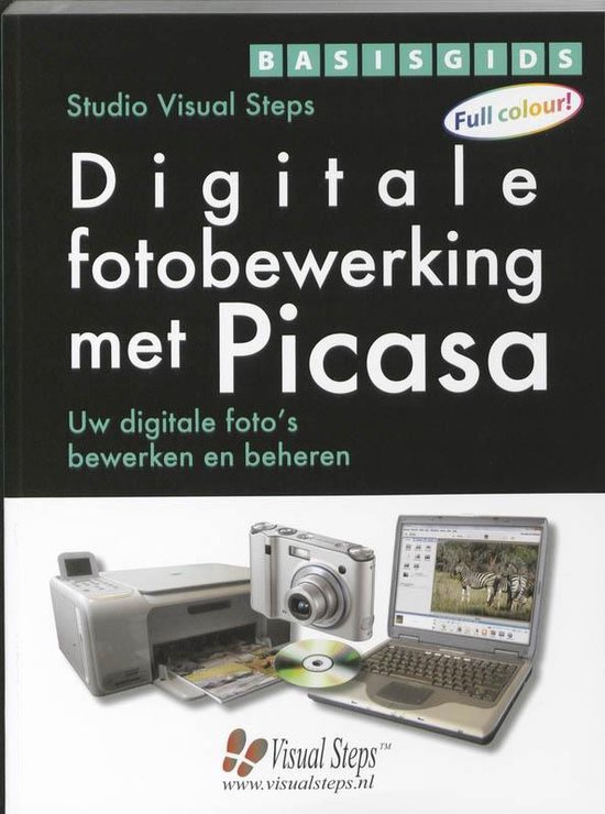 Basisgids Digitale fotobewerking met Picasa - Studio Visual Steps |