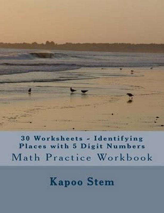 30 Worksheets - Identifying Places with 5 Digit Numbers
