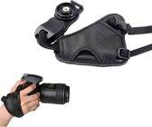 Hand grip camera strap PU leer voor Nikon Canon Sony