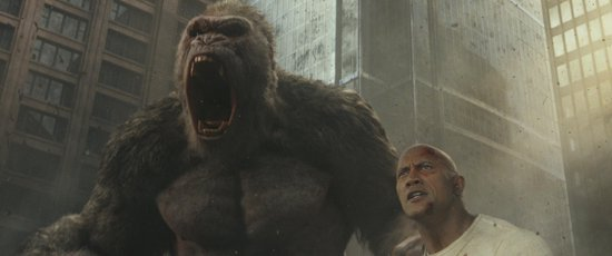 Rampage: Big Meets Bigger (4K Ultra HD Blu-ray)