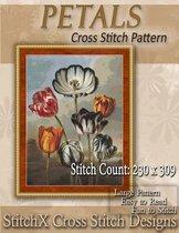 Petals Cross Stitch Pattern