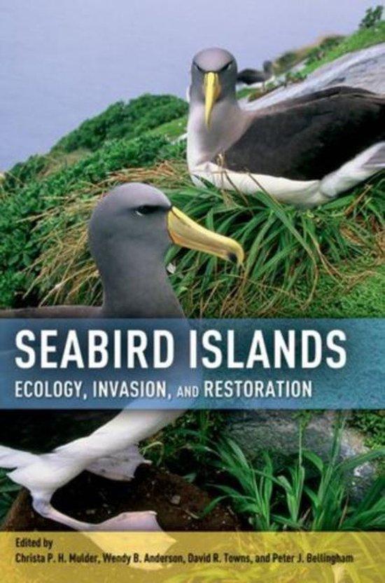 Boek cover Seabird Islands van Mulder, Christa P. H. (Hardcover)