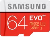 Samsung Evo+ 64GB Micro SDXC class 10 - met adapter