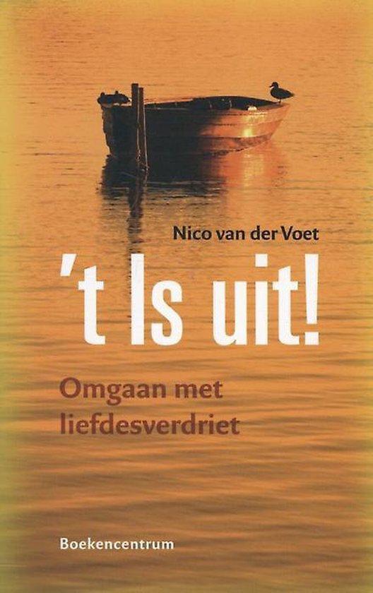 Cover van het boek ''t is uit!' van Nico van der Voet