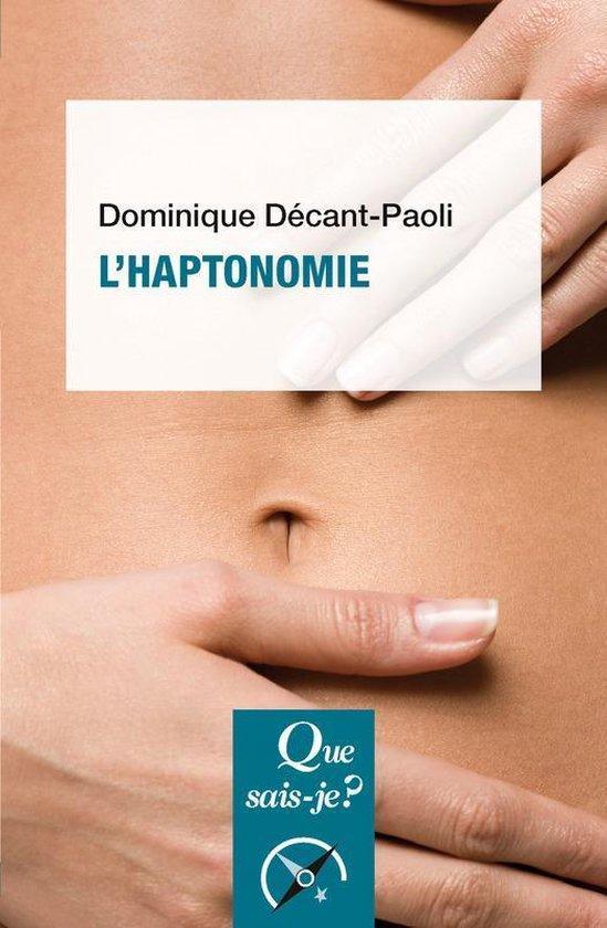 Boek cover LHaptonomie van Dominique Décant-Paoli (Onbekend)