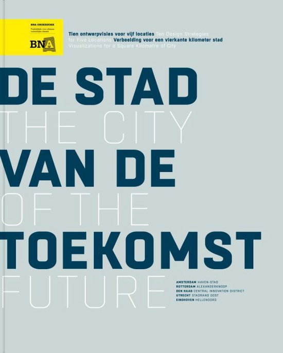 Boek cover The City Of The Future van Hans de Boer (Paperback)