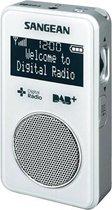Sangean DPR-34 - Draagbare radio met DAB+ - Wit
