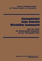 Staatsangehorigkeit Soziale Grundrechte Wirtschaftliche Zusammenarbeit
