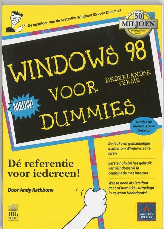 Voor Dummies - Windows 98 voor Dummies - A. Rathbone |