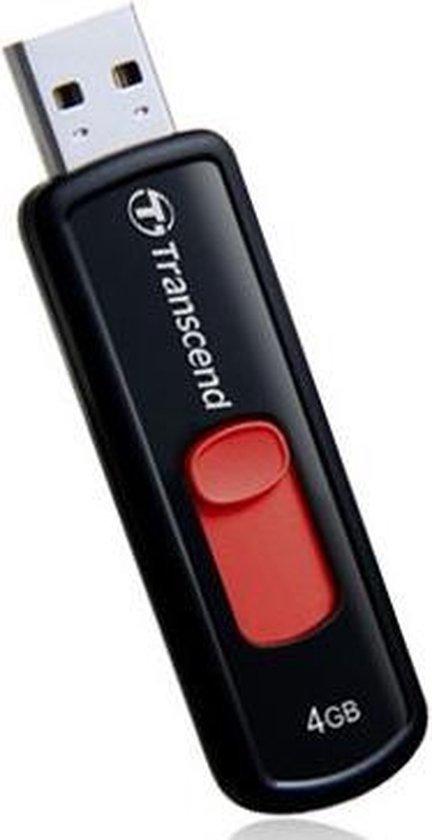 JetFlash 500 4GB - USB-Stick / Rood