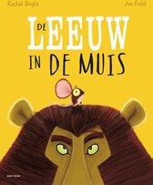 Boek cover De leeuw in de muis van Rachel Bright (Hardcover)