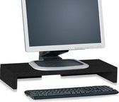 Duurzame monitorstandaard zwart