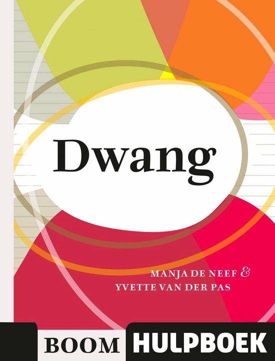 Boom Hulpboek - Dwang - Manja de Neef |