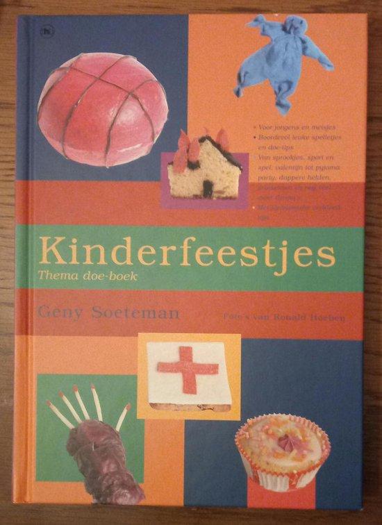Kinderfeestjes Thema Doe Boek