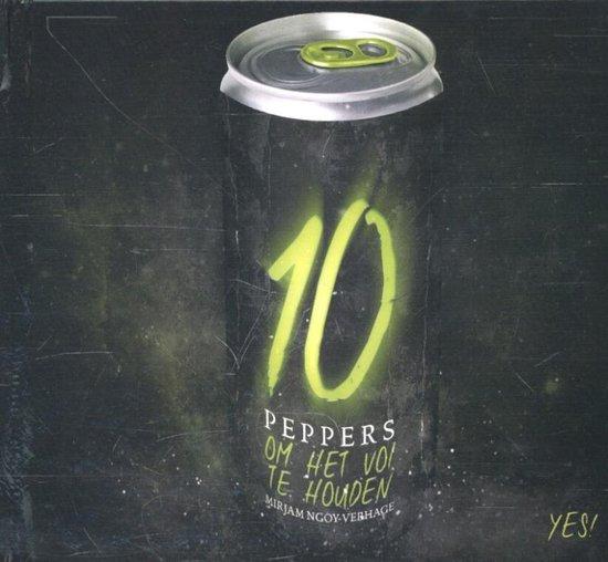 Cover van het boek '10 peppers  / Om het vol te houden' van Mirjam Ngoy-Verhage