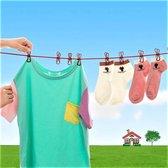 Flexibele outdoor waslijn 180cm - 350cm | Pride Kings®