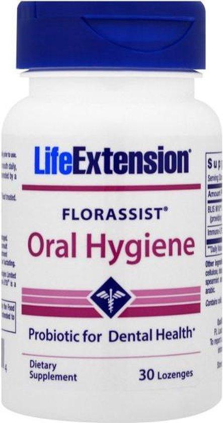 Florassist Oral Hygiene (30 Lozenges ) - Life Extension