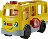 Fisher-Price Little People Zit-Naast-Mij Schoolbus - Speelfigurenset