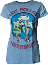 Breaking Bad Los Pollos Hermanos Dames T-shirt XL