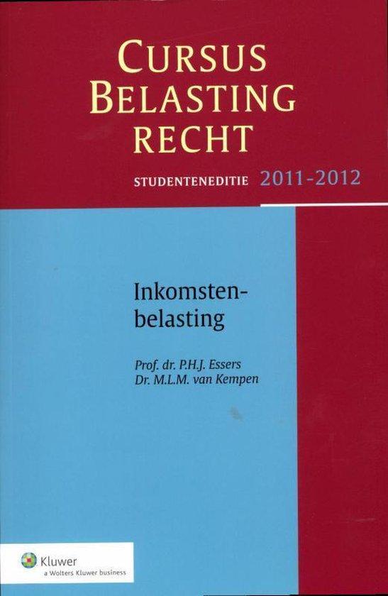 Inkomstenbelasting / studenteneditie 2011 - 2012 - P.H.J. Essers |