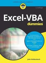 Boek cover Excel-VBA fur Dummies van John Walkenbach