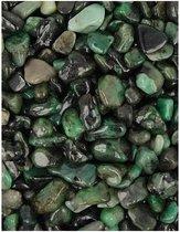 Trommelstenen Smaragd (5-10 mm) - 10 gram