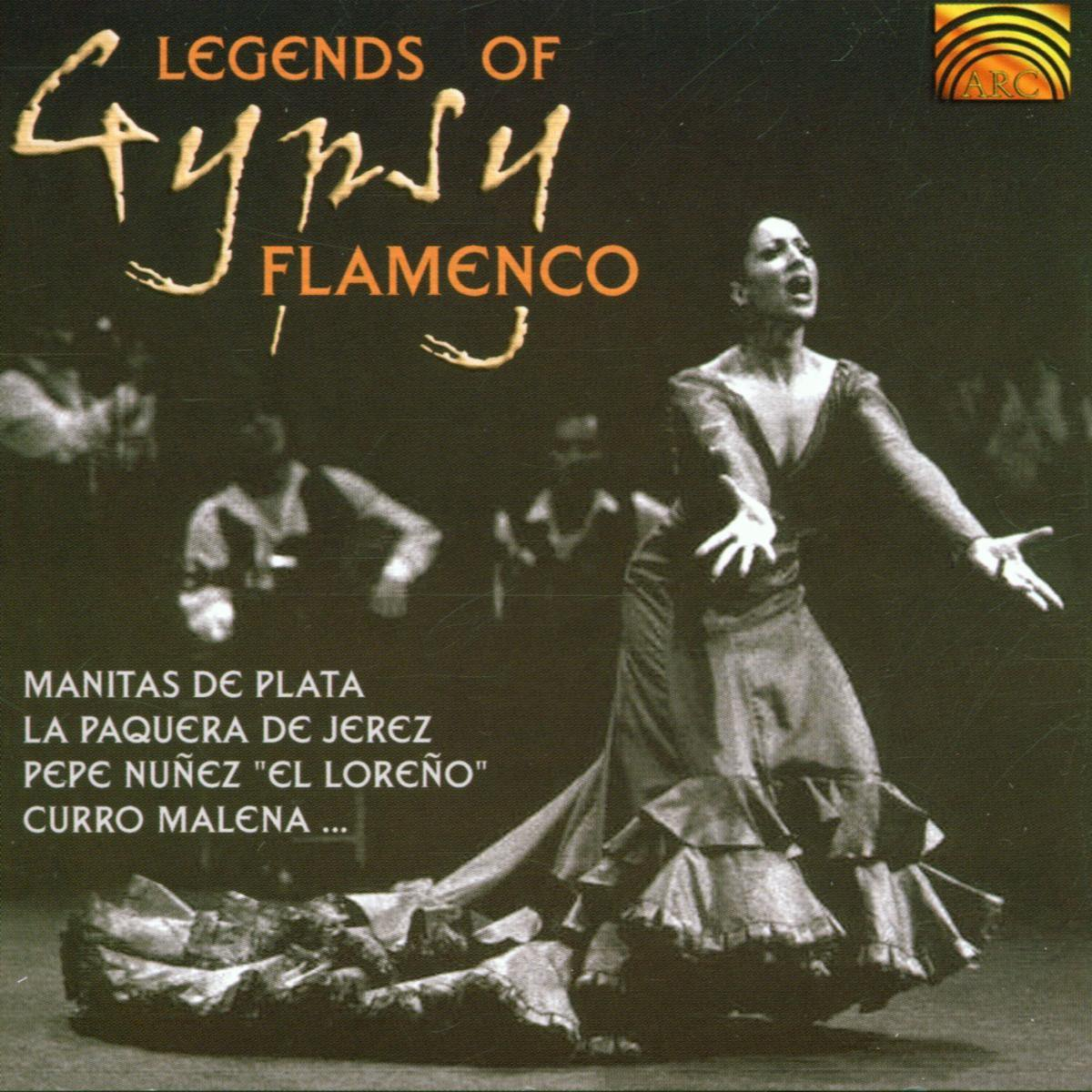 Legends Of Gypsy Flamenco - Various