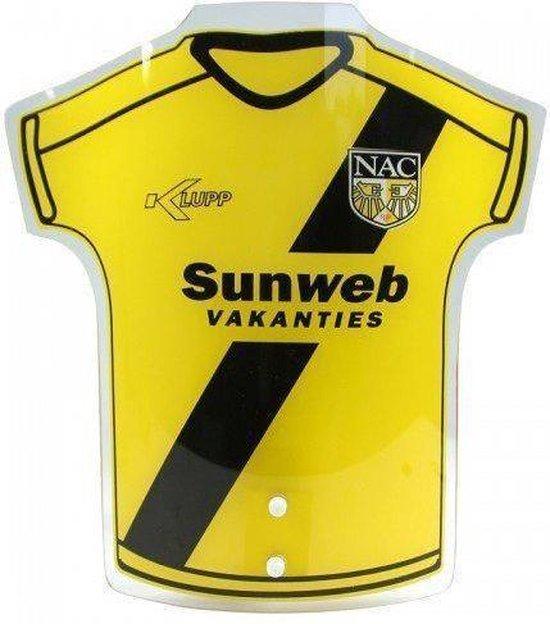 Nac breda Shirt lamp geel zwart