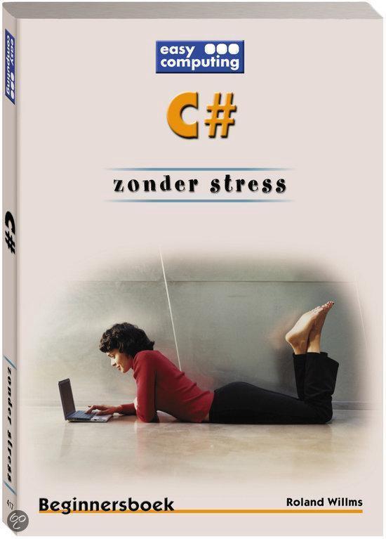 Cover van het boek 'C # zonder stress + CD-ROM'