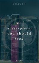 Boek cover 50 Masterpieces you have to read before you die vol: 2 (ShandonPress) van Shandonpress