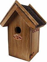 Esschert Design Vogelhuisje - Bruin - 21,5 x 16 x 11,3 cm