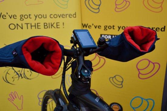 HATSOME verwarmde fietswanten (Sport) Dark green