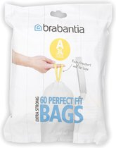 Brabantia Perfect Fit Vuilniszakken - 3 l - Code A - 60 stuks