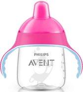 Philips AVENT Pinguin Drinkbeker - Met Handvat & Nippen - 260ml - 12M+