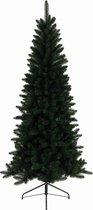 Everlands Lodge Slim Pine kunstkerstboom 210 - smalle kerstboom - zonder verlichting