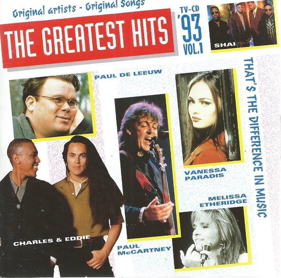 Greatest Hits '93 Vol 1