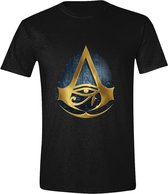 Assassin's Creed: Origins - Hyroglyphics Logo Men T-Shirt - Zwart - Maat S