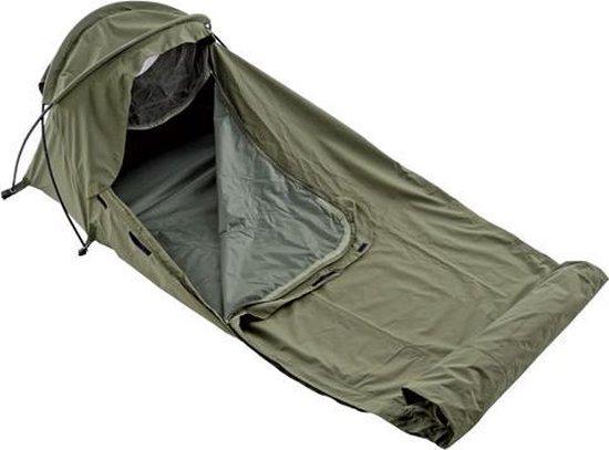 Defcon 5 Tent Bivi Bivvy Bag 1700 Gram - Groen - 1 Persoons