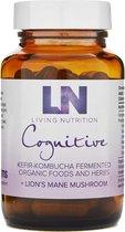 Living Nutrition / Cognitive Gefermenteerde Lion's Mane Capsules – Bio 60 stuks