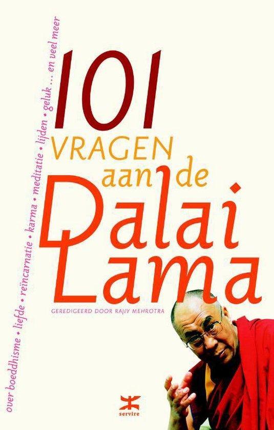 Cover van het boek '101 Vragen aan de Dalai Lama' van Dalai Lama