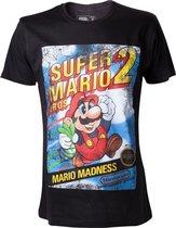 Officieel gelicenseerd - Super Mario Bros 2 T-Shirt  - Heren - S
