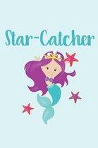 Star-Catcher Mermaid Notebook