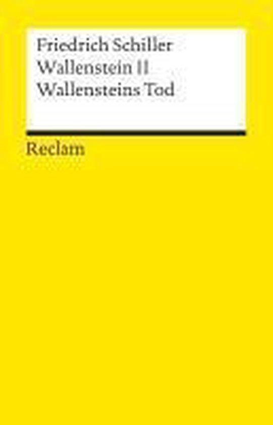 Wallenstein II. Wallensteins Tod