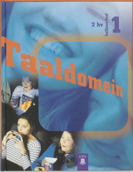 Taaldomein 2 hv halfjaardeel 1 leerlingenboek - M. Couzijn |